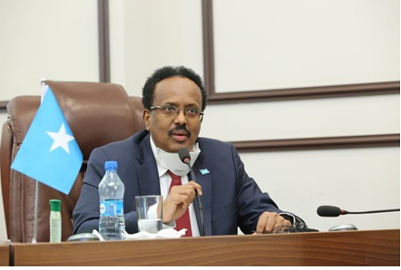 President Farmaajo faced a moment of truth in Parliament on Saturday